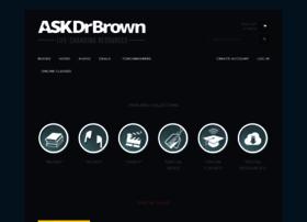 askdrbrown.myshopify.com