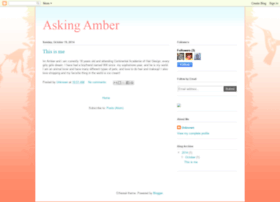 asking-amber-blog.blogspot.com
