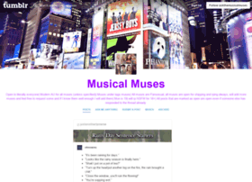 askthemusicalmuses.tumblr.com
