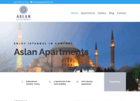 aslanapartments.com