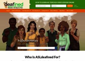 Asldeafined.com