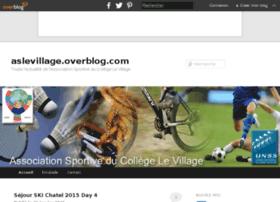 aslevillage.overblog.com