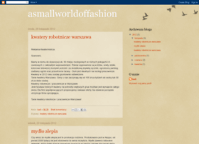 asmallworldoffashion.blogspot.com
