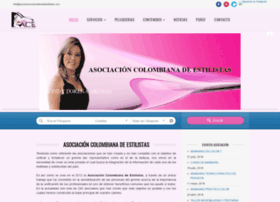 asociacioncolombianadeestilistas.com