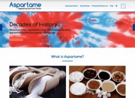 aspartame.org