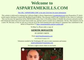 aspartamekills.com