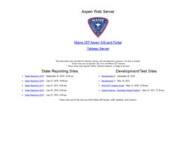 aspen.maine207.org