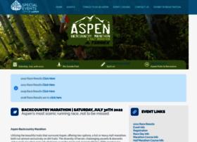 aspenbackcountrymarathon.com