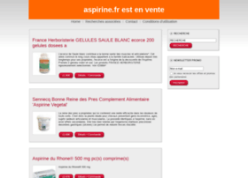 aspirine.fr