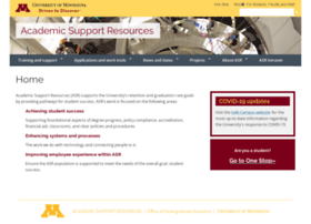 asr.umn.edu