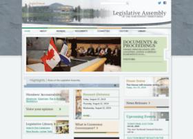 assembly.gov.nt.ca