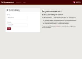 assessment.du.edu