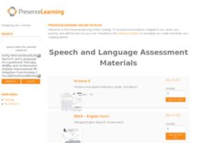 assessmentmaterials.presencelearning.com