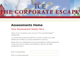 assessments.thecorporateescape.com