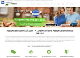 assignmentcompany.com