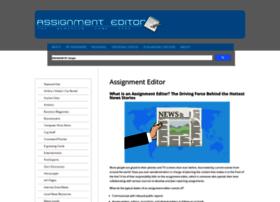 assignmenteditor.com