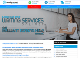 assignmentservice.co.uk