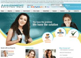 assignmentsolutionhelp.com