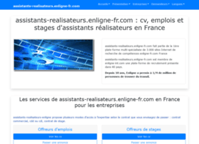 assistants-realisateurs.enligne-fr.com