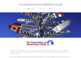 associationofamericanclubs.com