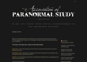 associationofparanormalstudy.com