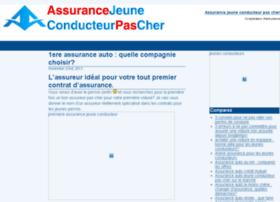 assurancejeuneconducteurpascher.fr