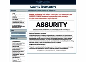 assurity.toastmastersclubs.org