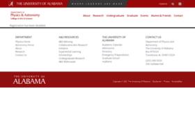 astr.ua.edu
