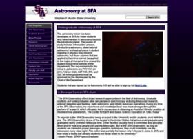astro.sfasu.edu