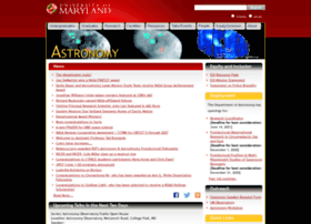 Astro.umd.edu