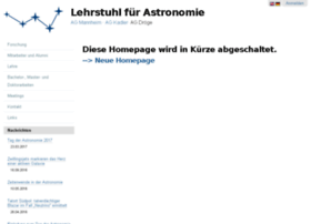 astro.uni-wuerzburg.de