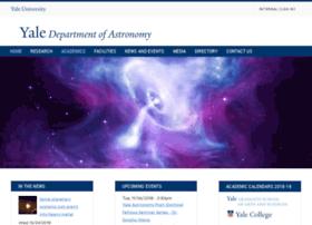 astro.yale.edu