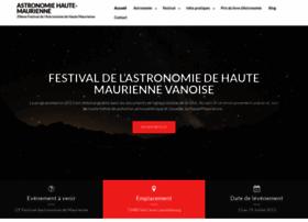 astronomie-hautemaurienne.com