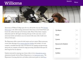 astronomy.williams.edu