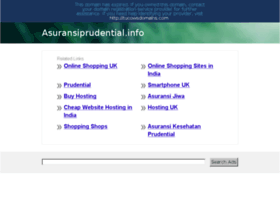 asuransiprudential.info