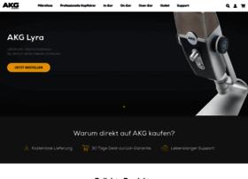 at.akg.com