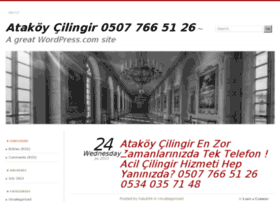 atakoycilingirhizmet.wordpress.com