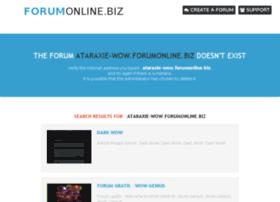 ataraxie-wow.forumonline.biz