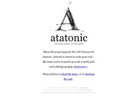 atatonic.timbenniks.nl