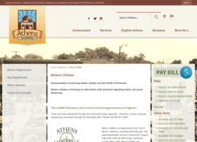 athens-utilities.com