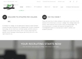 athletesforcollege.com