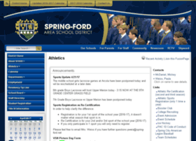 athletics.spring-ford.net