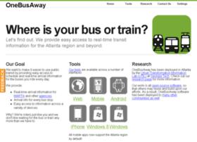 atlanta.onebusaway.org