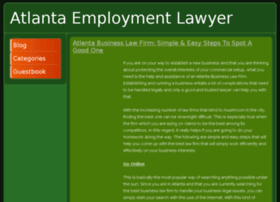 atlantaemploymentlawyer.webgarden.com