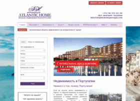 atlantichomeportugal.com