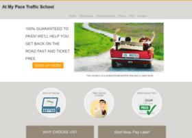 atmypacetrafficschool.com