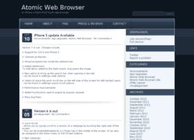 atomicwebbrowser.com