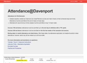 attendance.davenport.edu