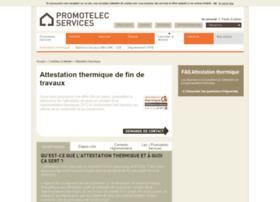attestation-thermique.com