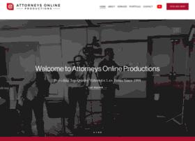 attorneysonlineinc.com